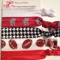 Elastic Hair Ties - ALABAMA Set - Pony Tail Holder