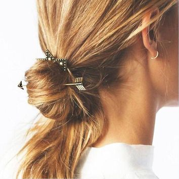 Go Your Own Way Hair Barrette Clip