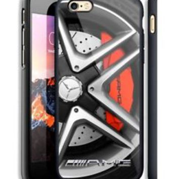 Mercedes Benz AMG Wheels Fit Hard Case For iPhone 6 6s Plus 7 8 Plus X Cover +
