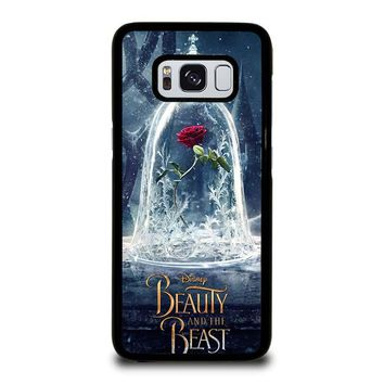 BEAUTY AND THE BEAST ROSE IN GLASS Samsung Galaxy S8 Case Cover
