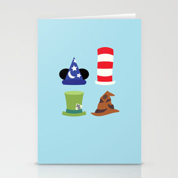 Magic in a Hat Stationery Cards by Page394