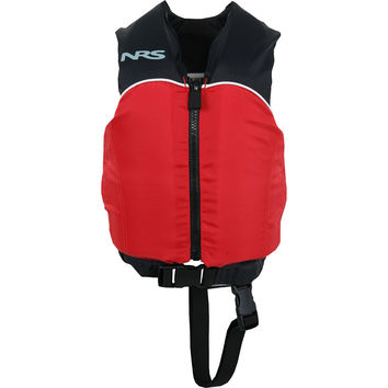 NRS Crew Universal Type III Personal Flotation Device - 30-50lbs - Kids' Red/Black, One