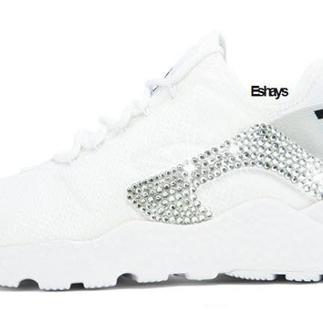 Crystal White Nike Air Huarache Run Ultra