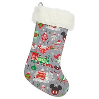 Disney Parks Nordic Winter Holiday Christmas Stocking New with Tag