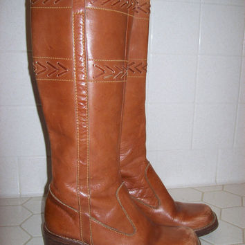 Leather Tall Boots Women's size 7