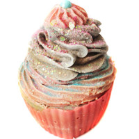 Cotton Candy Shea Butter Cupcake Soap