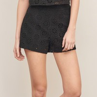 Structured Lace Short