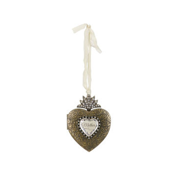 Mother's Love Locket Ornament by Demdaco