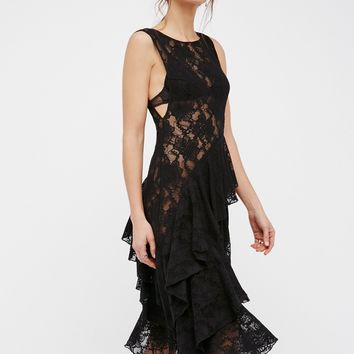 Free People Florence Lace Slip
