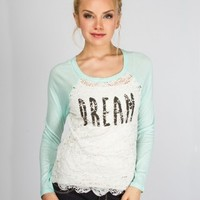 Dream Lace Graphic Tee