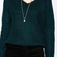 Brave Soul V Neck Jumper at asos.com