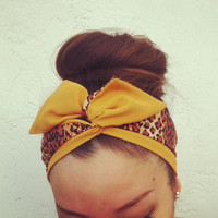 REVERSIBLE Dolly Bow Headband - EXCLUSIVE