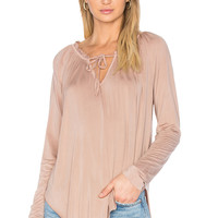 YFB CLOTHING Annette Top in Toffee | REVOLVE