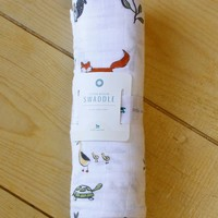 Forest Friends Swaddle
