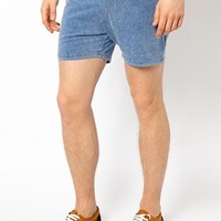River Island Shorts in Acid Wash