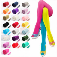 Spring Autumn Semi Opaque 80 Denier Pantyhose Stockings Tights 12 Candy Colors