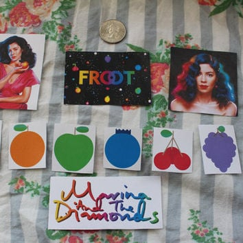 Marina and the Diamonds Froot Era Sticker Pack