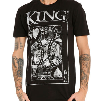 King 810 King Of Hearts T-Shirt