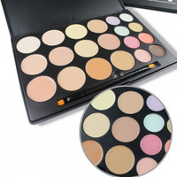 Neutral 20-Color Professional Face Makeup Cosmetic Concealer Palette
