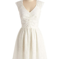 ModCloth Mid-length Sleeveless A-line Twirling at Twilight Dress