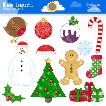 Christmas Digital Clipart for Instant Download. Chrismtas Clipart. Christmas Clip art. Xmas clipart. Xmas clip art. Holidays clip art.