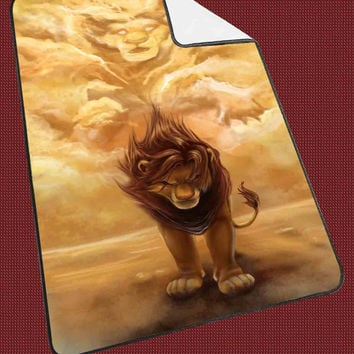 Disney Lion King Simba Kellylings for Kids Blanket, Fleece Blanket Cute and Awesome Blanket for your bedding, Blanket fleece**