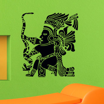 Wall Decals Mayan Inca Symbol Decal Sticker Vinyl Decals Wall Decor Murals Z515
