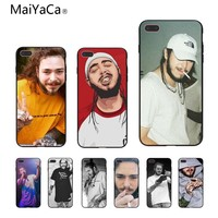 MaiYaCa Post Malone Unique Design High Quality phone case For Apple iPhone X 8 8plus 7 7plus 6 6s Cover