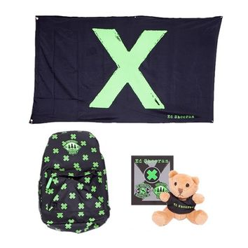 Ed Sheeran Webstore - x Backpack Bundle | EdSheeran.com