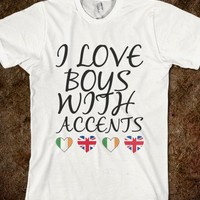 I Love Boys With Accents  - ONE DIRECTION