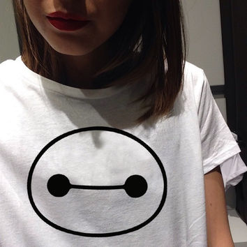 Women's Funny White Parody Sarcasm Fashion Loose T Shirt Harajuku Tee Top