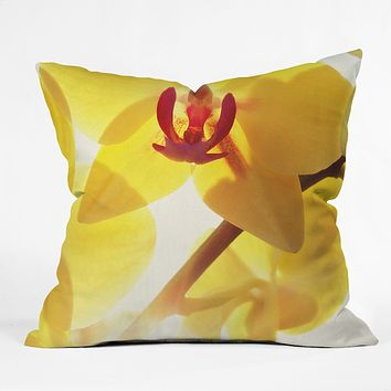 Shannon Clark Glow Throw Pillow