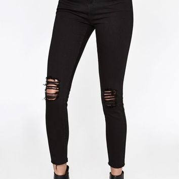 PacSun Eagle High Rise Ankle Jeggings at PacSun.com
