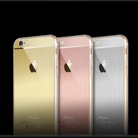 Metal Soft Case For Iphone 5 5s / 6 6s / 6 Plus