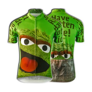 Brainstorm Gear Sesame Street Women's Oscar The Grouch Cycling Jersey