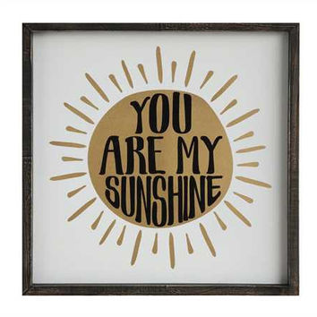 You Are My Sunshine- Wall Art