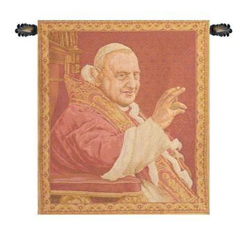 Pope Giovanni XXIII Tapestry Wall Art Hanging