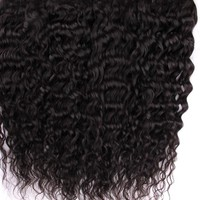 Malaysian Curly Weave Hair Extensions 1pc 100% Human Hair Weaves Bundles Non-remy Hair Natural Black