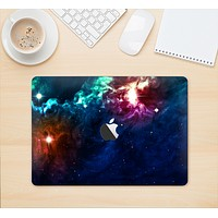 "The Glowing Colorful Space Scene Skin Kit for the 12"" Apple MacBook"