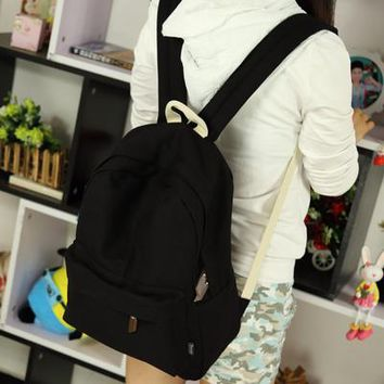 University College Backpack Pretty style canvas candy color women   student school book bag leisure AT_63_4