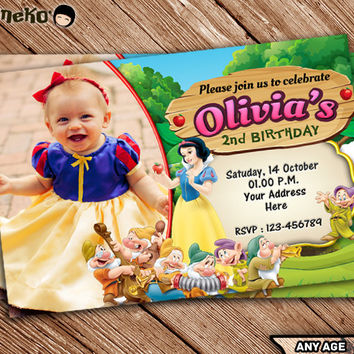 photo relating to Snow White Invitations Printable known as Keep Snow White Invites upon Wanelo