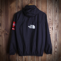 The North Face Sports Coat Hooded Cardigan Windbreaker Outwear