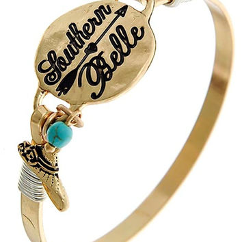 Antique Gold Southern Belle Bracelet