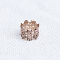 The Lace Ring in 14K Rose Gold