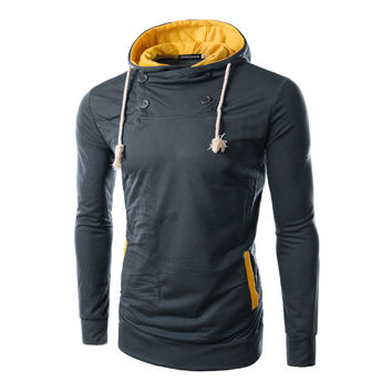 Hot Sale Slim Hats Hoodies Fashion Men Mosaic Jacket [6528701955]