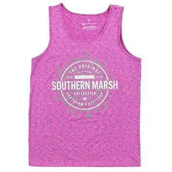 Schools Out Forever Tank in Purple & Pink by Southern Marsh - FINAL SALE