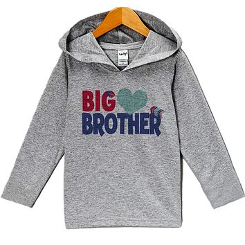 Custom Party Shop Baby's Big Brother Valentine's Day Hoodie