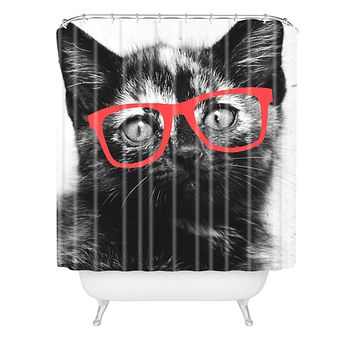 Allyson Johnson Sassy Kitten Shower Curtain