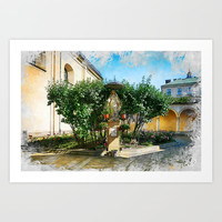 Cracow art 12 #cracow #krakow #city Art Print by jbjart