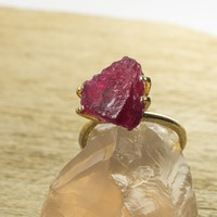 6.01ct Unheated Rough Ruby